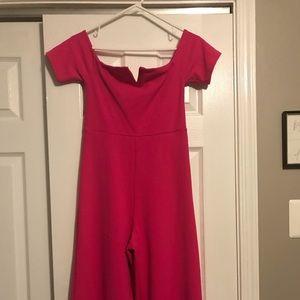 Pants - Pink jumpsuit